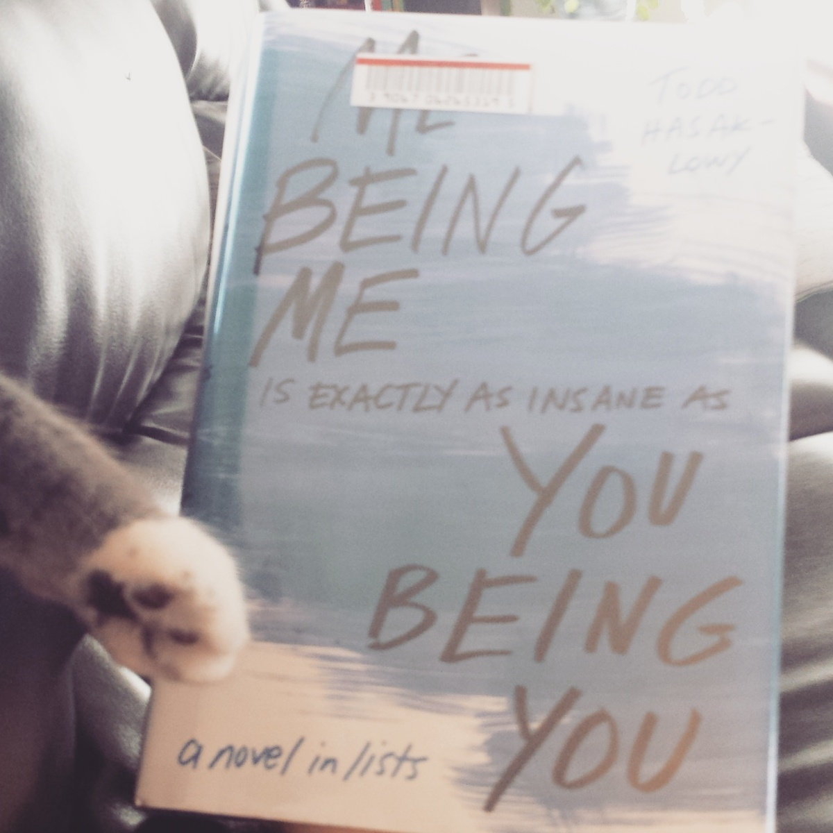 Me Being IS EXACTLY AS INSANE AS You Being You: A Book Review