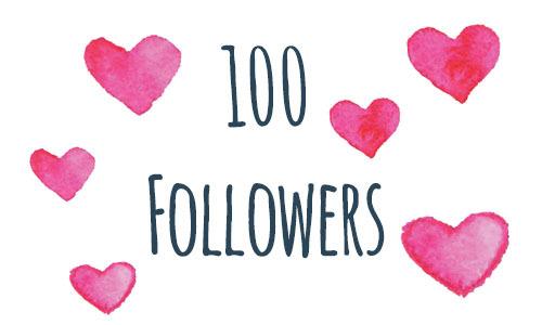 100 Followers & SomethingNew