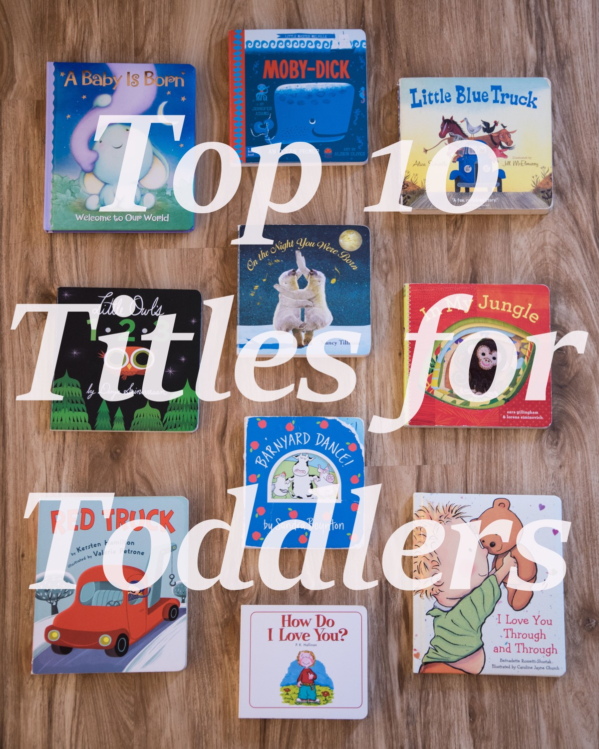 Top 10 Titles for Toddlers (Chosen By My Toddler)