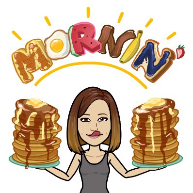 Bitmoji Morning